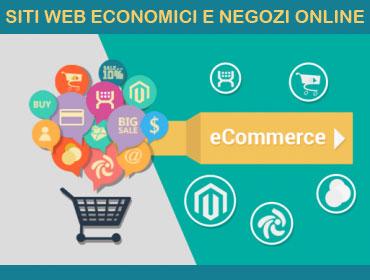Siti-Web economici e Negozi online