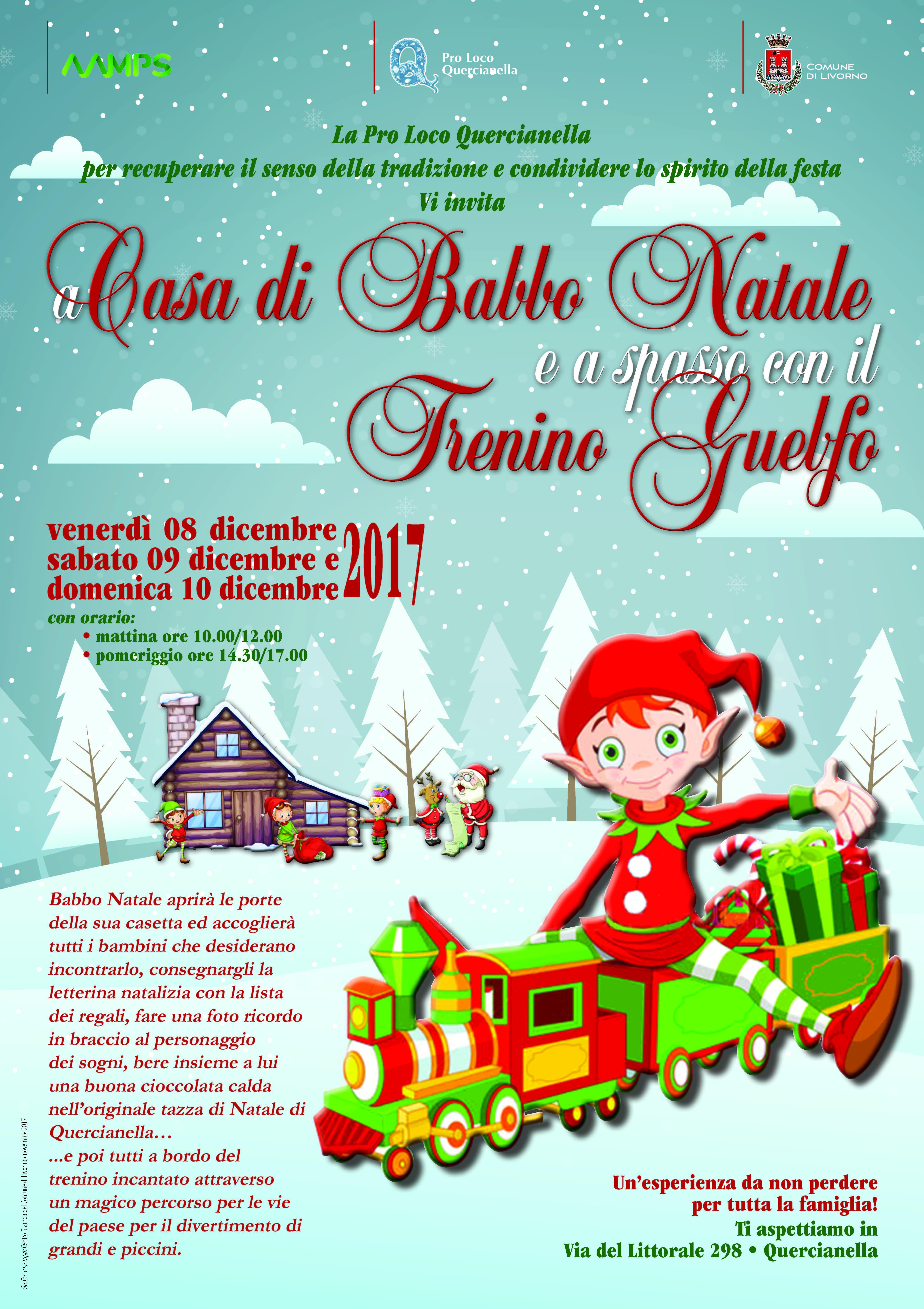 Babbo Natale A Casa Dei Bambini.Toscana To Eventi E Notizie A Casa Di Babbo Natale E A